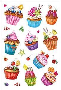 Naklejki HERMA Decor 3387 ciasteczka, muffinki x1