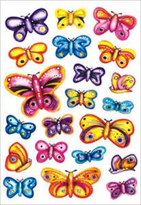 Naklejki HERMA Decor 3441 motylki kolorowe x1