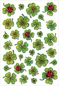 Naklejki HERMA Decor 5438 koniczynki, biedronki x1 - 2824962641