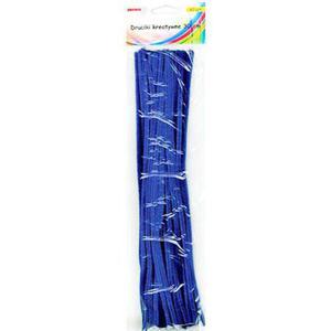 Druciki kreatywne 30cm niebieskie x40
