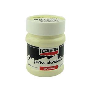 Farba akrylowa Pentart 100ml matowa - kość słoniow - 2824962658