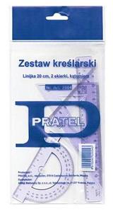 Zestaw geometryczny Pratel 20cm x1