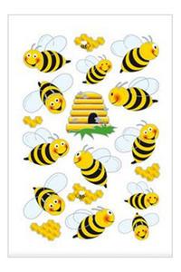 Naklejki HERMA Magic 3227 pszczółki, ul, miód x1