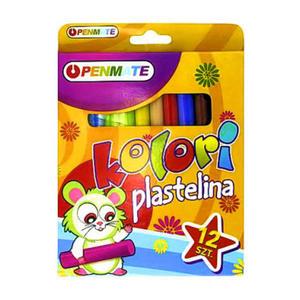 Plastelina Penmate -12 kol. x1