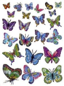 Naklejki HERMA Magic 6867 motylki kryształowe x1