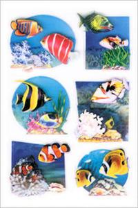 Naklejki HERMA Magic 6256 rybki egzotyczne x1