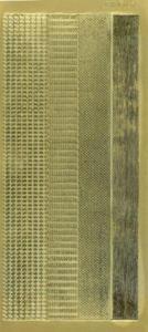 Sticker złoty 01421- zestaw szlaczków (R675) x1