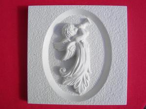 Forma do odlewów gipsowych B-G5-6 anioł z trąb x1 - 2824962989