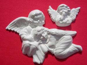 Forma do odlewów gipsowych A-F2-17 aniołki x1