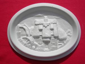 Forma do odlewów gipsowych A-F8-1 zamek x1 - 2824962997
