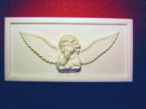 Forma do odlewów gipsowych A-G4-2 aniołek x1 - 2824963019