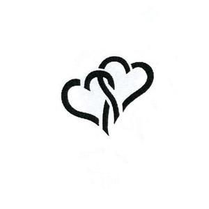 Dziurkacz ozdobny 110-134 serca splecione x1