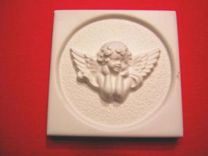 Forma do odlewów gipsowych M-G1-5 aniołek x1 - 2824963049