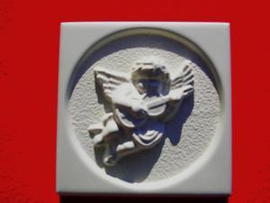 Forma do odlewów gipsowych M-G1-6 aniołek x1