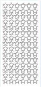 Sticker złoty 01114 - gwiazdy x1 - 2843439537