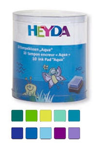 Poduszki do stempli Heyda mini Aqua x10