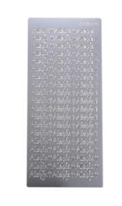 Sticker srebrny 03470 - alleluja x1