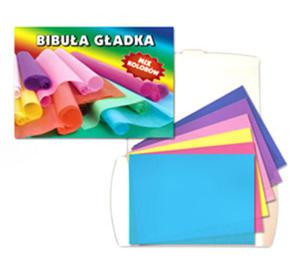 Zeszyt bibułek kolorowych Starpak 20k x1