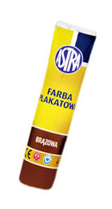Farba plakatowa Astra tuba 30ml - brązowa x1
