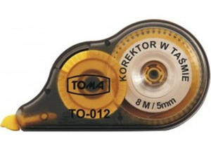 Korektor w taśmie Toma 5mmx8m TO-012 x1