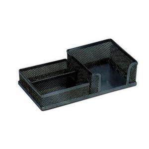 Przybornik biurowy metalowy 3336 czarny x1 - 2824963403