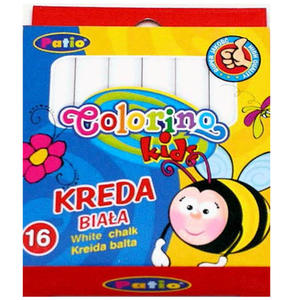 Kreda Patio Colorino Kids biała x16