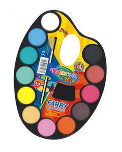 Farby akwarelowe Patio Colorino paletka 12 kol x1