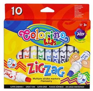 Pisaki Patio Colorino Zig Zag 10 kol x1 - 2836311575