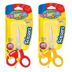 Nożyczki Patio - szkolne z odbojnikiem blister x1