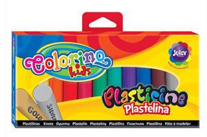 Plastelina Patio Colorino - 12 kol. złota/srebrna