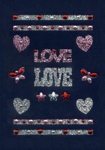 Naklejki HERMA Glam 6647 love, miłość, serca x1 - 2824963522