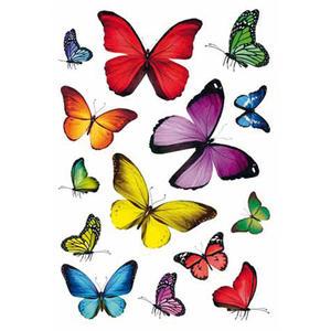 Naklejki HERMA Decor 3084 kolorowe motyle x1