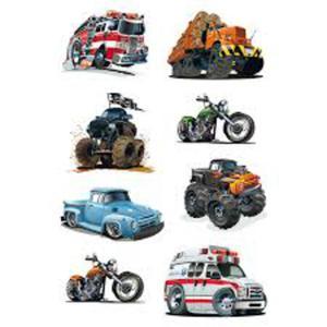 Naklejki HERMA Decor 3085 pojazdy silnikowe x1