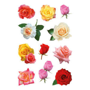 Naklejki HERMA Decor 3308 kolorowe róże x1