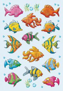 Naklejki HERMA Decor 3333 ryby tropikalne x1