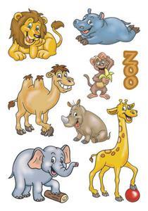 Naklejki HERMA Decor 3334 zwierzęta w ZOO x1