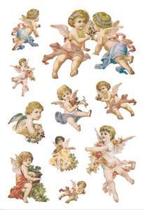Naklejki HERMA Decor 3338 małe aniołki x1
