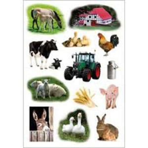 Naklejki HERMA Decor 3358 zwierzęta na farmie x1