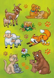 Naklejki HERMA Decor 3364 zwierzęta, zwierzaki x1