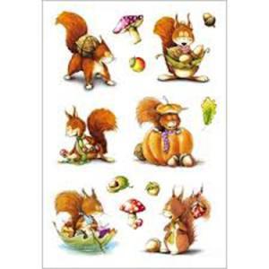 Naklejki HERMA Decor 3368 wiewiórki