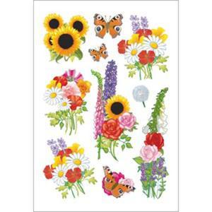 Naklejki HERMA Decor 3369 jesienne kwiaty x1