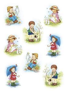 Naklejki HERMA Decor 3381 małe dzieci x1