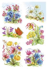 Naklejki HERMA Decor 3382 górskie kwiaty x1