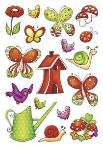 Naklejki HERMA Decor 3383 kolorowy ogród x1