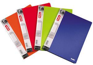 Teczka 40 A4 Patio Clear Book czerwona x1