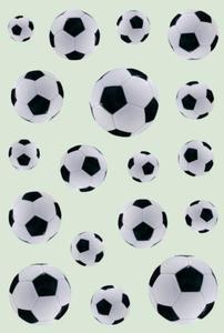 Naklejki HERMA Decor 3434 piłki, piłka nożna x1