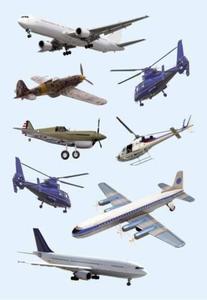 Naklejki HERMA Decor 3442 samoloty x1