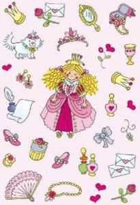Naklejki HERMA Decor 3453 księżniczka x1