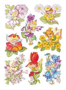 Naklejki HERMA Decor 3478 elf, kwiatowe elfy x1