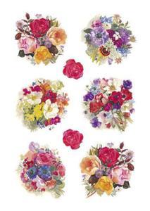 Naklejki HERMA Decor 3504 bukiety kwiatów x1